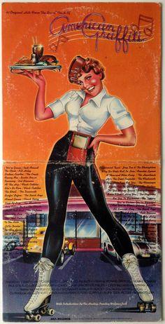 American Graffiti Double LP Vinyl Record Album by ThisVinylLife