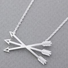 Boho arrow silver over stainless steel necklace New! 18 inch silver plated over stainless steel thin & delicate arrow boho necklace. Bundle and save 15%. Minimalist Jewelry Necklaces
