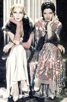 Lilyan Tashman, and Kay Francis in Travis Banton - 1931 - Girls About Town