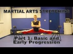 Flexibility for Martial Arts Tutorial (Get High Kicks) - warm up basics
