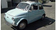 Fiat 500 babyblue