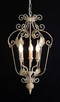 French Provincial Cage Lantern Rust 3L
