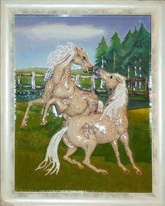 obraz ceramiczny, majolika Ryszard Krawczyk, Danuta Rożnowska-Borys BorysArt