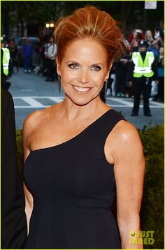 Katie Couric: Met Ball 2013 Red Carpet with John Molner: Photo Katie Couric steps out in style on the red carpet at the 2013 Met Gala held at the Metropolitan Museum of Art on Monday (May in New York City. Red Carpet Makeup, Katie Couric, Nelly Furtado, Plastic Surgery, Most Beautiful Women, Celebrity Photos, Mother Of The Bride, Lady, Celebrities
