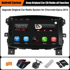 Upgraded Original Car Radio Player Suit to to Chevrolet Epica 2013 GPS Navigation Car Video Player WiFi Bluetooth