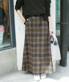 ツイードチェックフレアマキシスカート◆(スカート)|SLOBE IENA(スローブイエナ)のファッション通販 - ZOZOTOWN