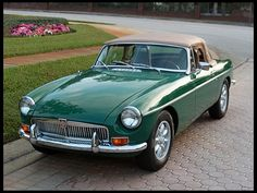 1969 MG B Convertible 1800 CC, 5-Speed Exactly like the one I had my first B experience with!