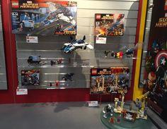 2015 Toy Fair LEGO Marvel Sets Display