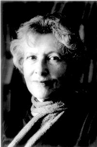 Denise Levertov, one of my two favorite poets. I was luck enough to meet her before she died.