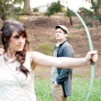 Hunger Games themed wedding!