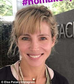 Elsa Pataky reveals her flawless complexion in candid makeup-free snap Elsa Pataky, Women 40 Years Old, Laura Vandervoort, Maia Mitchell, Alicia Vikander, Hailee Steinfeld, Jennifer Morrison, Free Makeup