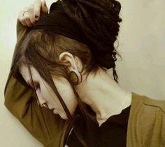 Dreads black plugs ✌