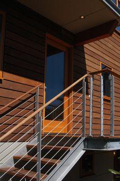 Deck modern exterior