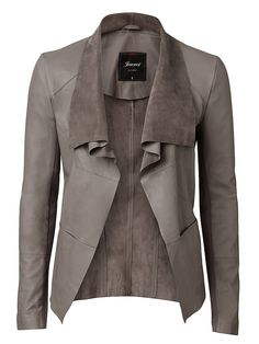 'Willow' Waterfall Leather Jacket - would soooo love this!