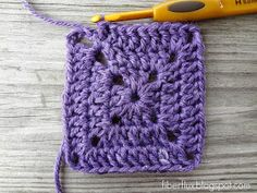 Fiber Flux: How to Crochet a Solid Granny Square