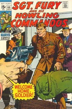 Sgt Fury and his Howling Commandos #68 (Jul 1969)