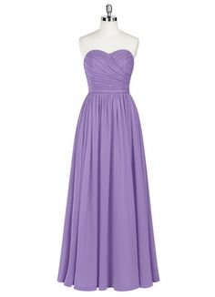 AZAZIE LILOU. Lilou is a floor-length dress in an A-line cut. #Bridesmaid #Wedding #CustomDresses #AZAZIE