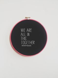we are all in this - ruggles made