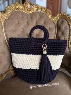 Crochet Designs, Straw Bag, Nova, Fashion, Crochet Purses, Strands, Tejidos, Art, Moda