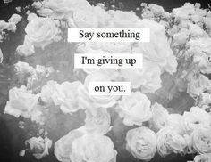 Say Something - A Great Big World ft. Christina Aguilera