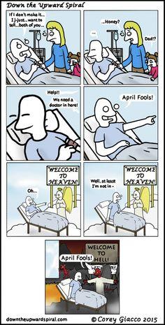 April Fools https://www.youtube.com/channel/UC76YOQIJa6Gej0_FuhRQxJg