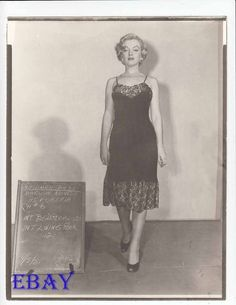 Marilyn Monroe costume test RARE Photo | Collectibles, Photographic Images, Contemporary (1940-Now) | eBay!