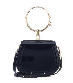 eaffd9732a61 Chloé - Small Nile patent leather bracelet bag - Chloé updates the cult  Nile bracelet bag