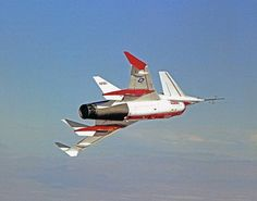 https://flic.kr/p/wfVxP7 | Rockwell HiMAT | The HiMAT (Highly Maneuverable Aircraft Technology) subscale research vehicle, seen here during a research flight, was flown by the NASA Dryden Flight Research Center, Edwards, California, from mid 1979 to January 1983. Its maiden flight was on July 27, 1979. The aircraft demonstrated advanced fighter technologies that have been used in the development of many modern high performance military aircraft. Image # : ECN-14273 Date: December 30, 1980