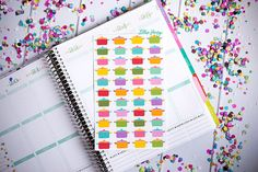 Crockpot FUN-ctional Planner Stickers Set of 44 by lilliehenry
