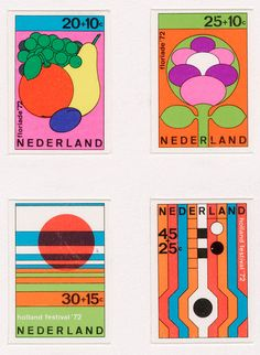 Test print for Dutch stamp designs by Dick Elffers 1972 Graphic Design Illustration, Illustration Art, Illustrations, Postage Stamp Design, Plakat Design, Poster Prints, Art Prints, Posters, Exhibition