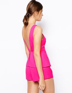 Enlarge Finders Keepers Stranger In Paradise Playsuit with Frill
