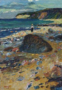 """Wassily Kandinsky - """"Binz on Rugen"""", 1901"""