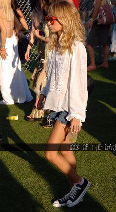 Nicole Richie - aspirational boho