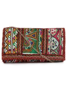 Maroon Handcrafted Clutch Bag Accessories 94b0376f30dd7