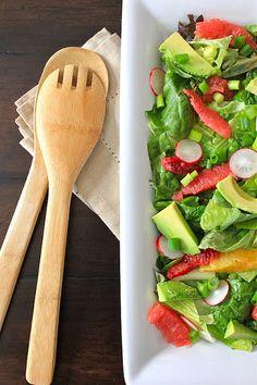 ValSoCal: Avocado Citrus Salad