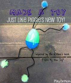 """inspired by Mo Willems' book, """"I Love My New Toy"""" ... this post is part of the Summer Virtual Book Club for Kids!"""