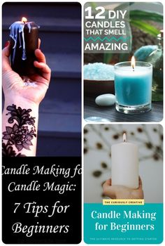 how to learn candle making Diy Candles, Pillar Candles, Where To Buy Candles, Candle Making For Beginners, Candle Making Supplies, Candle Magic, Make Your Own, How To Make, Simple