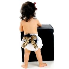 Couture Leopard Diaper Cover $32.00
