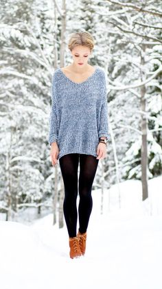 Oversized textured knit