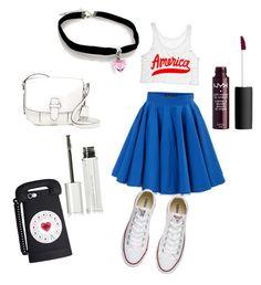 """American tumblr girls"" by beatrix04 on Polyvore featuring moda, Philipp Plein, Converse, MICHAEL Michael Kors e Givenchy"