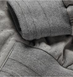 Brioni Suede Bomber Jacket - Cuffs
