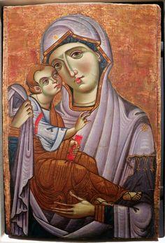 Anonimo pisano sec. XIII , Madonna con Bambino - insieme.  Lia Art Museum