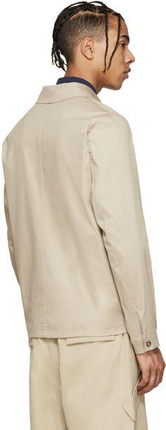 Kenzo: Tan Safari Jacket | SSENSE