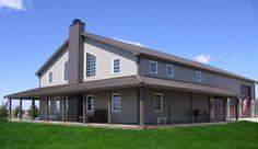 Pole barn house:                                                                                                                                                                                 More