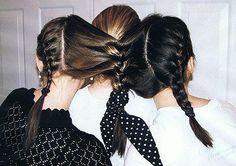 @Allison Wren @Kerry Buschman @Erica Gurian I want to do this to your hair!!