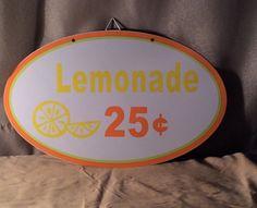 Limonade Blechschild