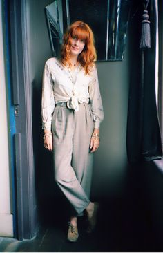 Florence + the Machine Fotos de Florence Welsh, Florence Welch Style, New Fashion, Boho Fashion, Florence The Machines, Amazing Women, Style Icons, Muse, Style Inspiration