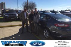https://flic.kr/p/P5k667   Happy Anniversary to Jordan on your #Ford #Fusion from Justin Bowers at Waxahachie Ford!   deliverymaxx.com/DealerReviews.aspx?DealerCode=E749
