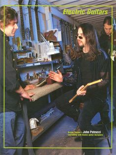 John Petrucci, Dream Theater, Catalog, Hero, Guys, Concert, Guitars, Live, Brochures