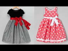 latest cotton frock design ideas for Girls/beautiful frock design ideas for little girls - YouTube